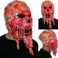 Halloween Party Latex Bloody Zombie Mask Face Horror Scary Costume Cosplay Masks
