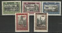 Germany - Danzig 1932 Sc# C31-C35 MNH VG/F - Valuable airmail set Scv $ 200.00