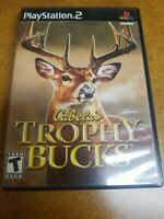 Cabela's Trophy Bucks (Sony PlayStation 2, 2007)(Complete)(Tested)