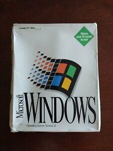 Microsoft Windows 3.1 operating system