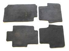 04 05 06 07 08 ACURA TL BLACK CARPET FLOOR MATS RUGS LINERS OEM GENUINE USED SET
