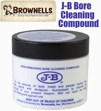 J-B Bore Cleaning Compound Non Embedding For Guns Pistols and Rifles 2oz