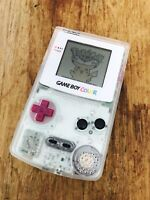 Nintendo GameBoy Color - Refurbished Colour Game Boy Handheld GBC Clear DMG Look