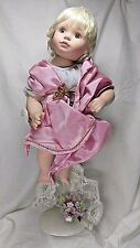 Vtge Georgetown Collection Porcelain Doll Ann Timmerman Arielle the Spring Angel