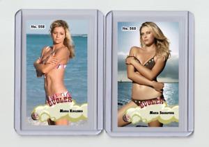 Maria Kirilenko rare MH Bugler #'d 3/3 Tobacco card no. 558