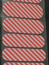 Jamberry Half Sheet - Candy Cane - Retired - Holiday - Christmas
