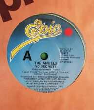 45rpm single - The Angels - No Secrets/Staring Voices (Vg+)
