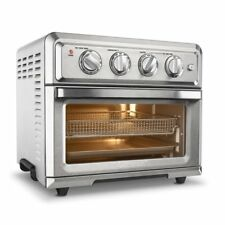 Convection Toaster Oven- Air Fryer with Light, Silver- Cuisinart TOA-60