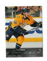 2015-16 UPPER DECK #208 KEVIN FIALA YG RC UD YOUNG GUNS ROOKIE PREDATORS