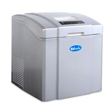Glacio 3.2l Portable Ice Cube Maker Machine 20kg Auto Home Commercial Silver