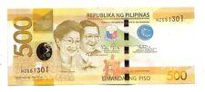 Filippine Philippines  500  piso 2014    FDS UNC     Pick 210 b     Lotto 4084
