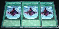 Yugioh Dimensional Fissure SDDE-EN028 NM/MINT Common 3X 1st Edition