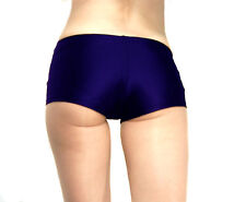 SPANDEX SHINY MICRO MINI SHORTS HOT PANTS DANCEWEAR XS S M L XL XXL XXXL