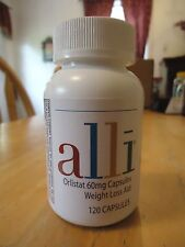 Alli Orlistat - 60mg - 120 capsules count - refill pack - Expiration date: 01/19