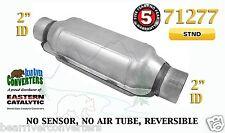 "71277 Universal Catalytic Converter Standard Catalyst 2"" Pipe 12"" Body"
