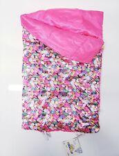 "Build A Bear-Rainbow Pink Unicorn Satin Sleeping Bag-NWT-17"""