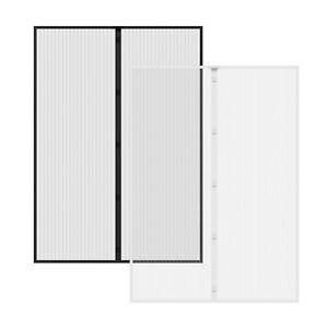 Rideau moustiquaire magnétique portes découpable sans perçage aimants JAROLIFT