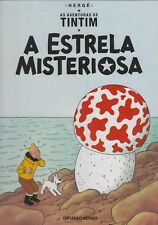Tintin Kuifje • Etoile Mysterieuse en Portugais • Difusao Verbo • Hardcover Neuf