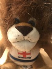 ENGLAND FOOTBALL WORLD CUP LION SOFT TOY MASCOT POSH PAWS