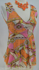 Sweet Pea by Stacy Frati Mesh date top stretch Anthropologie tank blouse cami S