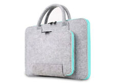 """11""""13""""13.3""""15"""" Felt Laptop Handle Bag Pouch Carry Case Cover For Macbook Air Pro"""