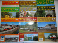 RailPace Magazines Lot of 9 Issues 2004 Railway Trains