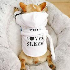 Hunde Bademantel 100 % Baumwolle...
