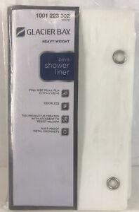 Glacier Bay Peva Shower Liner Full Size 70 In X 72 In Odorless