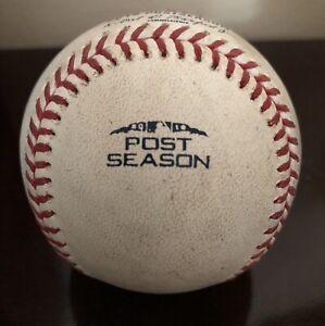 2018 Postseason Official MLB Rawlings Game Used Baseball