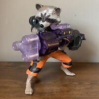 """Hasbro 2014 Guardians of The Galaxy talking Rocket Raccoon Action Figure 8 1/2"""""""