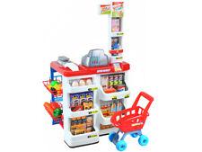 Supermarkt Kinder  Laden Zubehör Einkaufswagen Licht Sound Scanner 6747