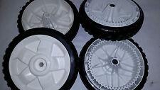 Toro 137-4833 & 137-4832 Drive and Push Wheel Set 119-0311 115-2894 (Set of 4)