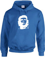 Che Guevara inspired Printed Hoodie Long Sleeves Cool Crew Neck Top Pullover