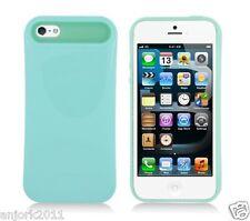 Apple iPhone 5 Hybrid Back Cover Skin Case Pastel Glow in Dark Seaform Green