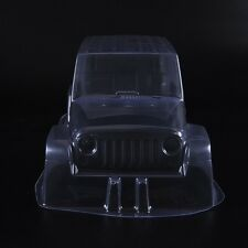 """Clear PVC Body Shell Paintable 12.3"""" 313mm For 1/10th  Scale RC Crawler Car"""