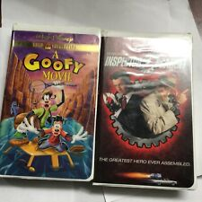 A. Goofy  Movie Vhs And Gadget Inspector One Vhs