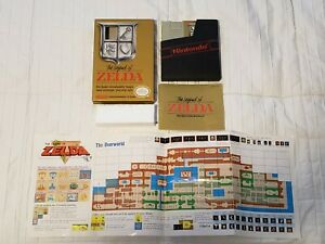 The Legend of Zelda (Nintendo NES) Authentic - Complete CiB - Cleaned - Tested
