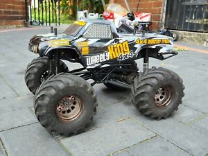 HPI WHEELY KING 4X4 1/12 SCALE RC ELECTRIC MONSTER TRUCK,CRAWLER,27T,BRUSHED