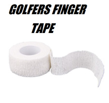 ANTI-BLISTER FINGER TAPE for GOLF, MARTIAL ARTS, CLIMBING, GYMNASTICS ETC