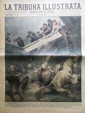 La Tribuna Illustrata 28 Marzo 1926 Bonifica Roma Palermo Squadra Navale Inglese