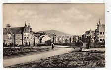 LINKS ROAD, LUNDIN LINKS: Fife postcard (C5758).