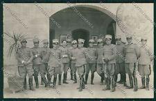 Reggio Emilia città Militari Foto cartolina QK0217