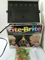 Vintage Lite Brite 1990 with original box and pegs Tested.