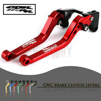 CNC 1 PAIR Lever Long Adjustable Brake Clutch Levers for HONDA CBR954RR 02-03