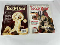 Vintage Teddy Bear and Friends Magazine Dec 1995 And Feb 1996 Good Condition.
