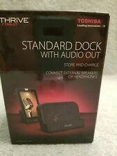 Toshiba Standard Dock - Audio Out - 7-inch Thrive Tablet     NEW     NEW
