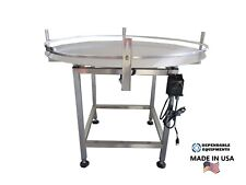 "Dependable Equipments Accumulation Turntable 36"" Diameter"