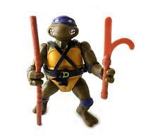 Hard Head Donatello Vintage TMNT Ninja Turtles Action Figure 1988 80s Don #1