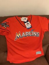Majestic Miami Marlins All Star Game 2017 MLB Jersey NWT Size M  Womens