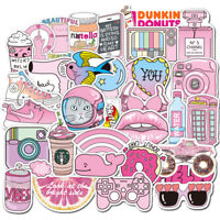 50pcs Cute Cartoon Decorative Stickers For Laptop Motorcycle Skateboard Decal